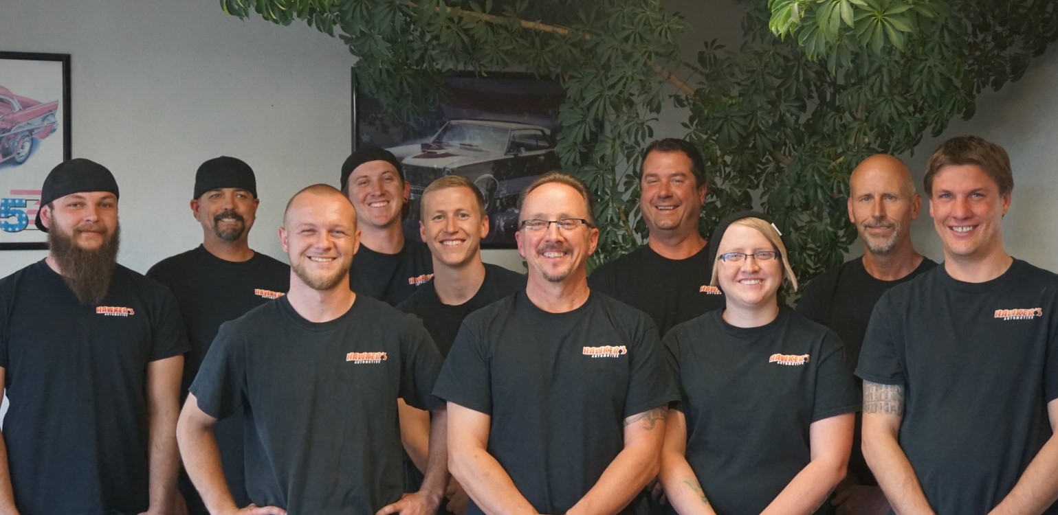 Fort Collins Auto Repair Hawker Automotive Crew